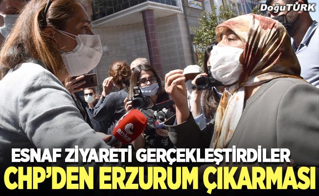 CHP'den Erzurum çıkarması