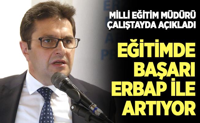 Erzurum'un eğitim ve öğretimdeki başarısı ERBAP programı ile artıyor
