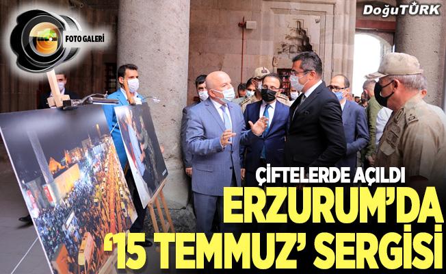 Erzurum'da 15 Temmuz sergisi