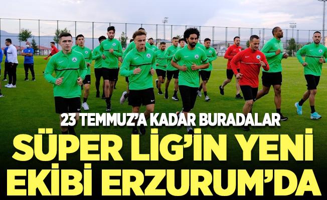 Süper Lig'in yeni ekibi Erzurum'da
