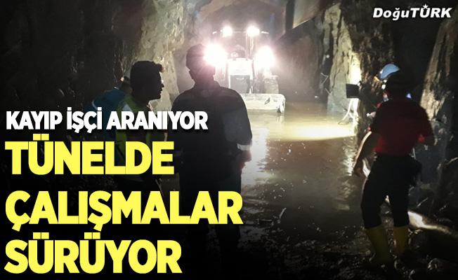 Erzurum'da 12 gün önce sele kapılan işçiyi arama çalışmaları sürüyor