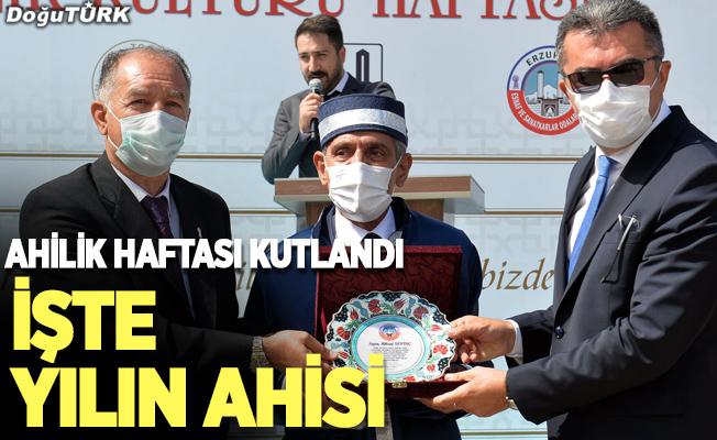 Erzurum'da Ahilik Haftası kutlandı