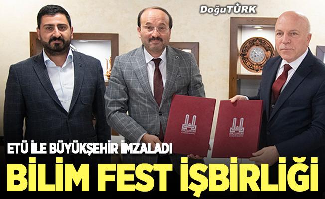 Bilim Fest için imzalar atıldı