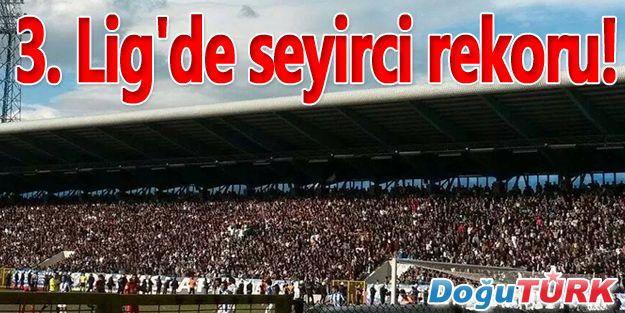 3. LİG'DE SEYİRCİ REKORU!