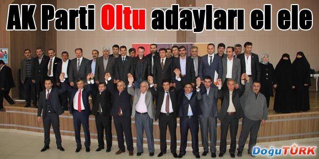 AK PARTİ ADAY ADAYLARI EL ELE