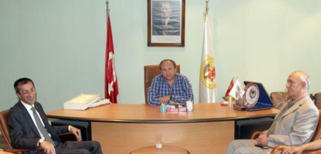 AK PARTİ İL BAŞKANI YEŞİLYURT'TAN DAGC'YE ZİYARET