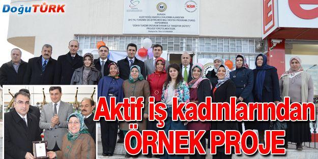 AKTİF İŞ KADINLARI'NDAN ÖRNEK PROJE