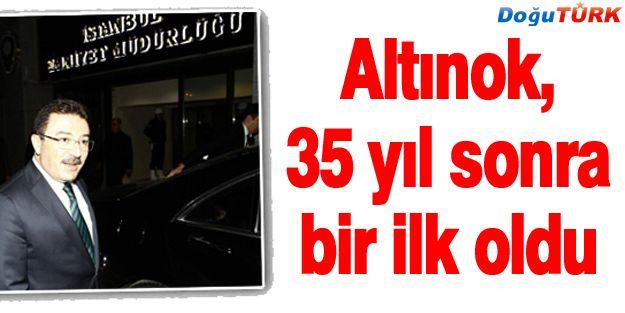 ALTINOK'UN ATANMASIYLA İLGİLİ ÖNEMLİ AYRINTI