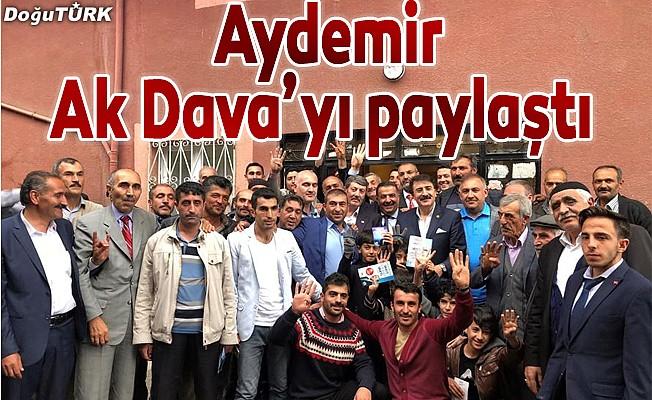 Milletvekili Aydemir Ak Dava'yı paylaştı