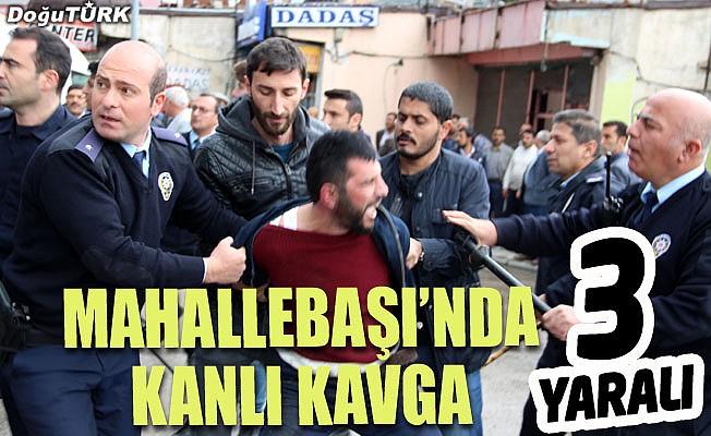 Erzurum'da kanlı kavga
