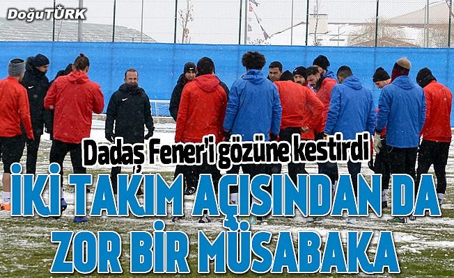 """""""Fenerbahçe maçı alt sıraları ciddi anlamda ilgilendiren bir maç"""""""