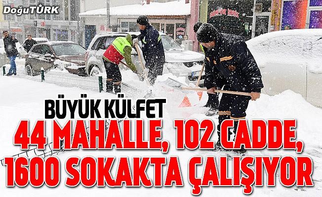 Karla mücadelede ciddi maliyet ortaya çıkmaktadır