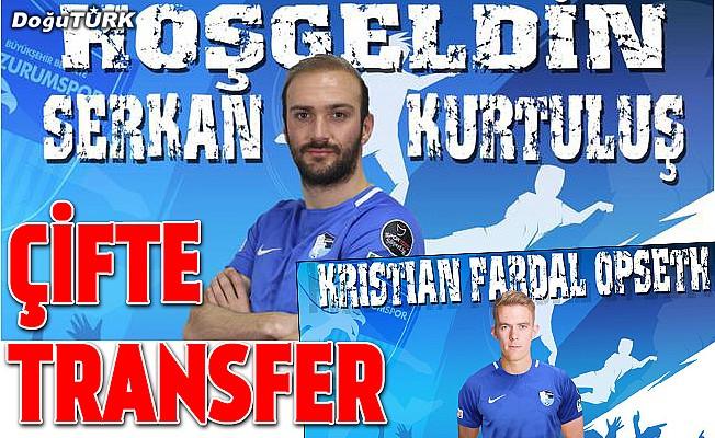 BB Erzurumspor'dan çifte transfer