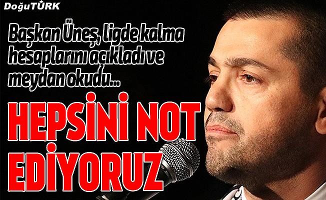 Erzurumspor'un Süper Lig'de kalma hesapları