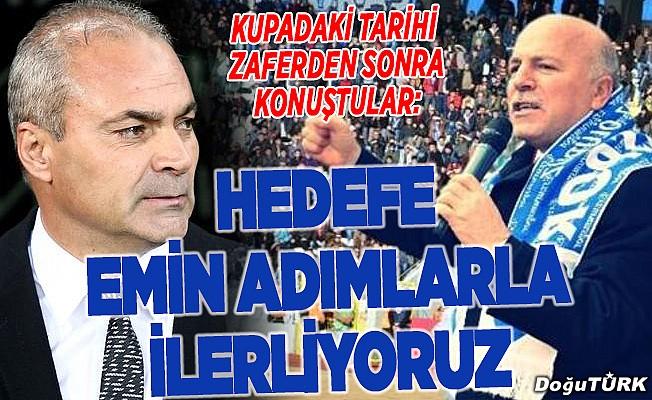 BB Erzurumspor hedefe odaklandı