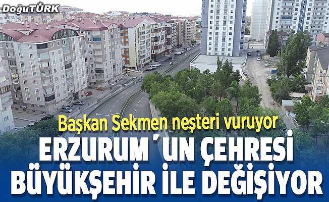 Büyükşehir şehrin çehresini değiştiriyor