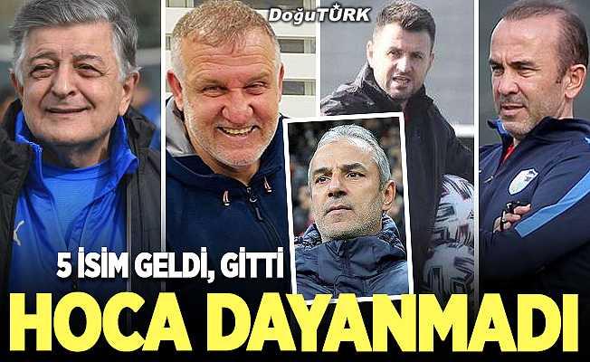 İkinci kez Süper Lig'e tutunamayan BB Erzurumspor'a teknik direktör dayanmadı