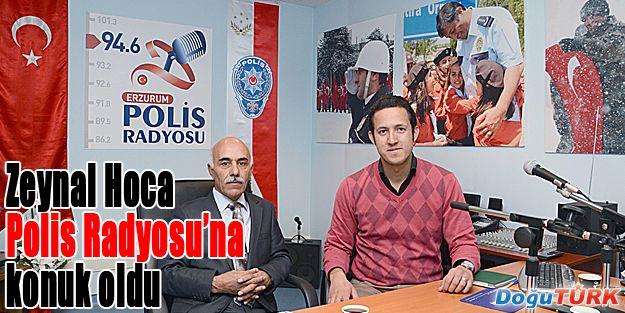 ARAŞTIRMACI YAZAR ABDURRAHMAN ZEYNAL, POLİS RADYOSU'NA KONUK OLDU