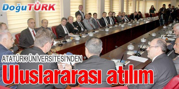 ATATÜRK ÜNİVERSİTESİ'NİN ALMANYA KAMPÜSÜ KURULUYOR