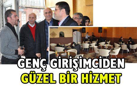 AURA CAFE HİZMETE GİRDİ