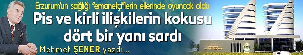 """Erzurum'un sağlığı """"emanetçi""""lerin ellerinde oyuncak oldu"""