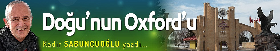 Doğu'nun Oxford'u