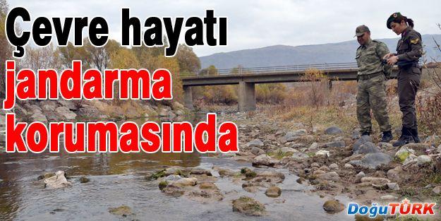 ÇEVRE HAYATI JANDARMANIN KORUMASINDA