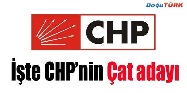CHP, ÇAT ADAYINI AÇIKLADI