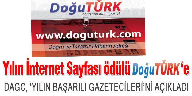 DAGC'DEN DOĞUTÜRK'E 'YILIN İNTERNET SAYFASI' ÖDÜLÜ