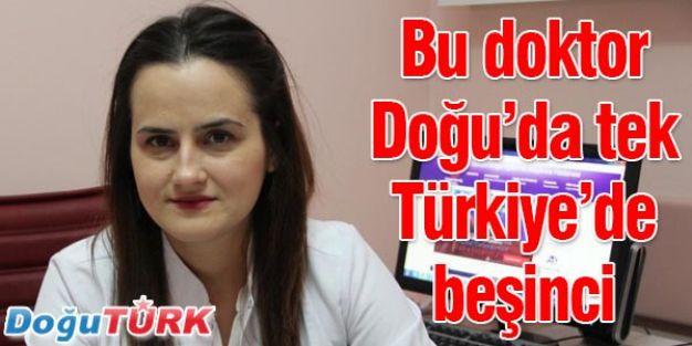 DOĞU'NUN İLK, TÜRKİYE'NİN BEŞİNCİ DOKTORU