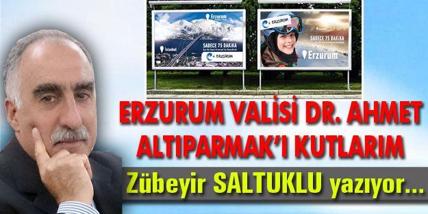 ERZURUM VALİSİ DR. AHMET ALTIPARMAK'I KUTLARIM