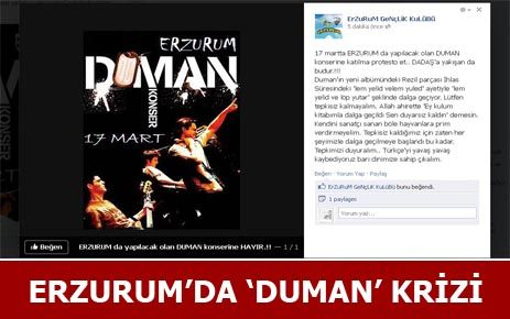 """""""ERZURUM'A GELMEYİN"""""""