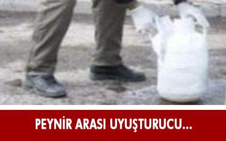 ERZURUM'DAN İSTANBUL'A OTLU PEYNİR ARASI UYUŞTURUCU