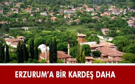 """ERZURUM'UN BİR """"KARDEŞ KENTİ"""" DAHA OLDU"""