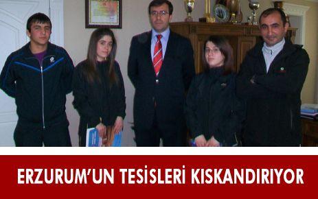 ERZURUM'UN SPOR TESİSLERİ KISKANDIRIYOR