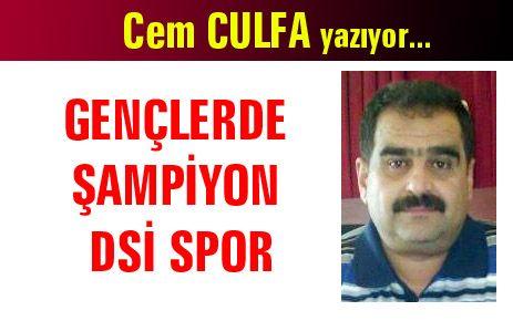 GENÇLERDE ŞAMPİYON DSİ SPOR