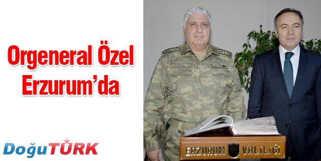 GENELKURMAY BAŞKANI ORGENERAL ÖZEL'DEN, VALİ ALTIPARMAK'A ZİYARET