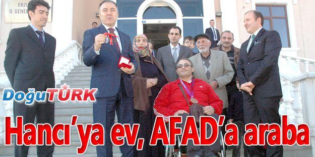 HANCI'YA EV, AFAD'A ARABA