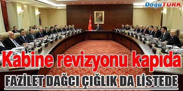'KABİNEDE 10 BAKAN DEĞİŞECEK' İDDİASI