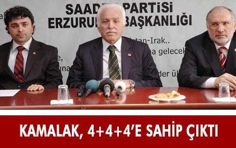 KAMALAK 4+4+4 'E SAHİP ÇIKTI