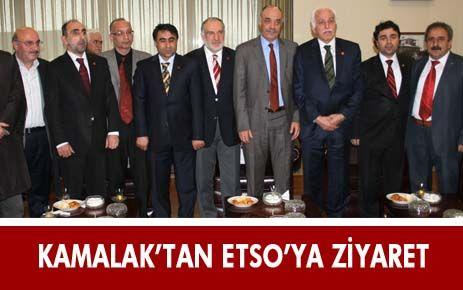 KAMALAK'TAN BAŞKAN YÜCELİK'E ZİYARET