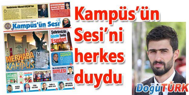 KAMPÜS'ÜN SESİ'Nİ HERKES DUYDU