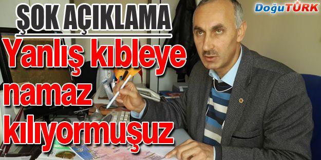 """KIBLEMİZ """"YANLIŞ"""" İDDİASI"""