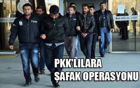 OKUL YAKAN PKK'LILARA ŞAFAK OPERASYONU