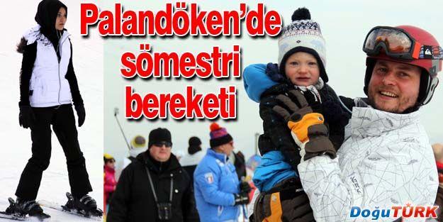 PALANDÖKEN'DE SÖMESTRİ BEREKETİ