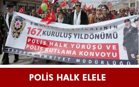 POLİS-HALK ELELE