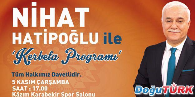 PROF. DR. NİHAT HATİPOĞLU, ERZURUM'A GELİYOR