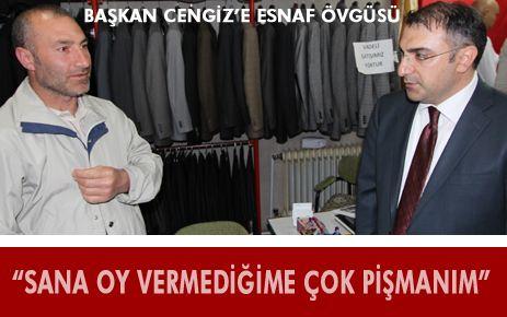 """""""SANA OY VERMEDİĞİME ÇOK PİŞMANIM"""""""