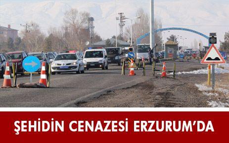 ŞEHİT UZMAN ÇAVUŞ, ERZURUM'DA
