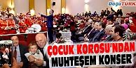 EBB ÇOCUK KOROSUNDAN MUHTEŞEM KONSER